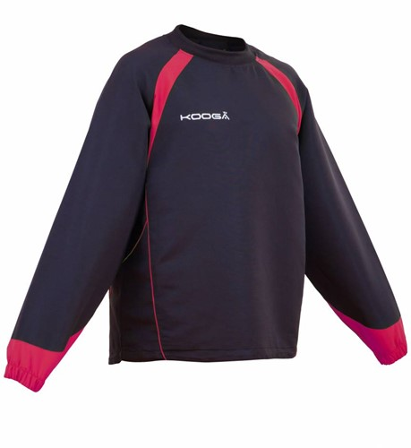 Kooga rugby trainingstop Vortex II Zwart/Rood