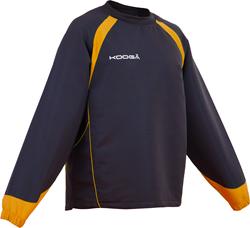 Kooga trainingstop Vortex II zwart/geel XL