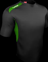 TEAM TECH TEE BLK/Emerald