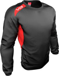Team tech Smock Black/Red