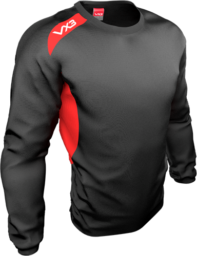 VX3 Team tech Smock Black/Red