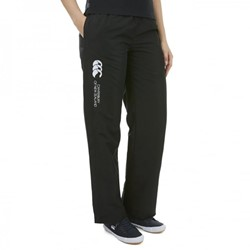 CANTERBURY DAMES SEASONAL OPEN HEM STADIUM PANT - 6 -2XS BLACK