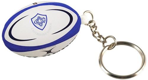 Gilbert rugbybal sleutelhanger CASTRES