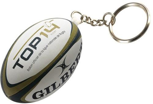 Gilbert rugbybal sleutelhanger LNR TOP 14