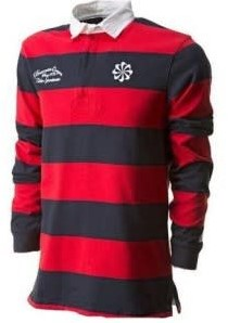 nike Old School Rugby Short banners  Rood - M